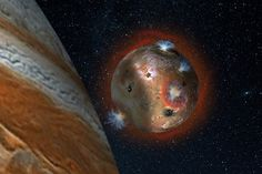NASA Headquarters Washington, D. - Jupiter's volcanic moon Io has a thin atmosphere that collapses in the shadow of Jupiter, condensing as ice,
