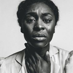 Cynthia Erivo as Celie in the Color Purple. Photo taken by Norman Jean Roy for New York Magazine (March 2016)
