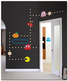 Pacman decoration - For more pins follow: @OtakuWalker ^v^