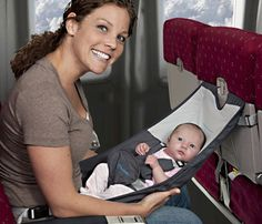 Who knew this existed? Flyebaby Airplane Baby Seat by Easy Travel Collection.need for the baby's first trip to Hawaii! Baby Kind, Our Baby, Baby Baby, Baby Shower Gifts, Baby Gifts, Siege Bebe, Baby Accessoires, My Bebe, Everything Baby