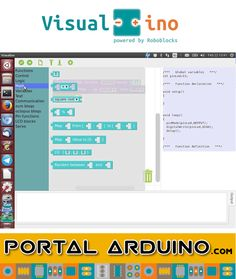Visualino Curso online Programación Gráfica de Arduino Campus Tecnológico Virtual