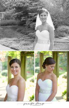 Bridal Session, Greensboro Arboretum, North Carolina, Copyright Jennifer Strange Photography