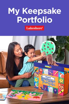 Collect and save kids' artwork and other special creations all in one place with our My Keepsake Portfolio – a must-have for the start of the school year! #kidsart kidscrafts The New School, New School Year, Back To School Essentials, Kids Artwork, Art For Kids, Arts And Crafts, Children, Projects, Art For Toddlers