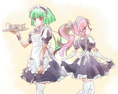 Neo and Emerald Maids~