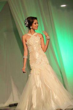 Kasalang Filipino sa Dumaguete 2013 Bridal Fashion Show! [www.kasal.com] Bridal Fashion, Filipino, Bridal Style, Fashion Show, Mermaid, Formal Dresses, Wedding, Dresses For Formal, Valentines Day Weddings