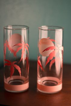 80s Miami Chic Tumblers by honeybonesinc on Etsy,