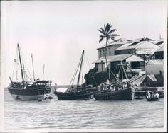 Mombasa Arab Dhows