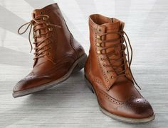 HILLCREST WINGTIP BOOTS BY | ANDREW MARC