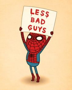 Spiderman. @Keri Stubbs not that I want this in vinyl, but it was too cute not to share it with you!