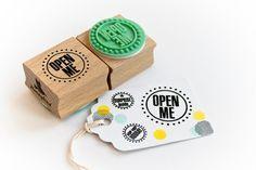 Open Me open mij stempel van MissHoneyBird op Etsy