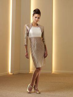 neckline knee-length mother of the bride dresses