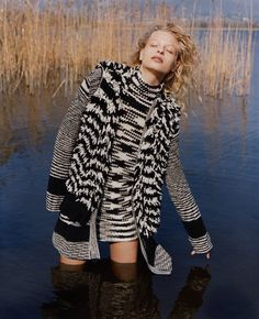 Frederikke Sofie Stars in Missoni Fall Winter 2016.17 Campaign