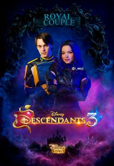 Descendants three Seymour descendants come to my account The Descendants, Descendants Characters, Disney Channel Descendants, Thomas Doherty, Cameron Boyce, Dove Cameron, Sofia Carson, Isle Of The Lost, Decendants