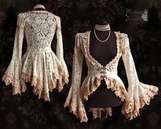 Ivory+lace+blouse,+somnia+romantica+by+M.+Turin+by+SomniaRomantica.deviantart.com+on+@DeviantArt