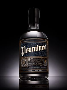 Promineo Whiskey — The Dieline