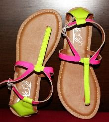 SoleDEDIT Neon Sandals, Cool Things To Buy, Flip Flops, Fashion, Cool Stuff To Buy, Moda, Fashion Styles, Beach Sandals, Fashion Illustrations
