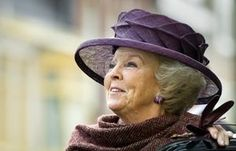 Our beautiful Queen Beatrix (about to abdicate 30/4 for her Son)