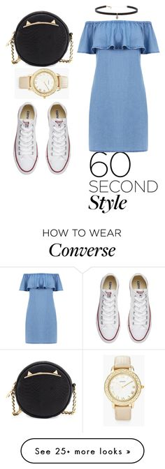 """Untitled #127"" by beso88 on Polyvore featuring Warehouse, Converse, Betsey Johnson, Carbon & Hyde and Chico's"