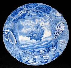 "There are 25 items from the Shipping Series in the online exhibit ""British Printed Pottery & Porcelain 1750-1900."" Take a look; http://printedbritishpotteryandporcelain.com/what-did-they-make/series-types/shipping-series-maker-unknown"