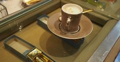 Espresso and perfume at Floris in Turin. Espresso Bar, Cool Cafe, Turin, Coffee Maker, Perfume, Tableware, House, Coffee Maker Machine, Coffeemaker