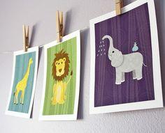Nursery Jungle Animals
