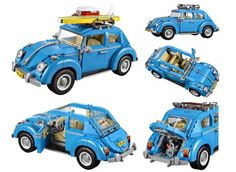 Check Out the LEGO Creator Expert Volkswagon Beetle Set