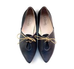 I love these handmade shoes - https://www.etsy.com/listing/175042077/sale-30-off-oxford-lena-blue-flat-shoes