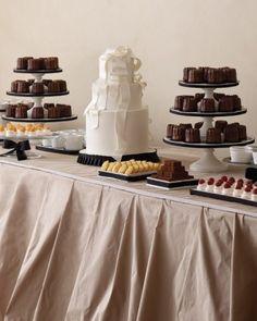 French Buffet-Wedding Dessert Table Ideas   Martha Stewart Weddings
