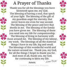 Prayer Thank You Father For Answered Prayers Daily Prayer