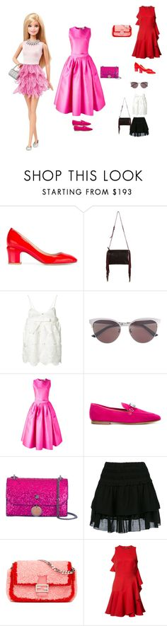 """My Barbie Doll..**"" by yagna ❤ liked on Polyvore featuring Valentino, Xaa, Rochas, Gucci, Maison Rabih Kayrouz, Giuseppe Zanotti, Jimmy Choo, Étoile Isabel Marant, Fendi and Alexander McQueen"