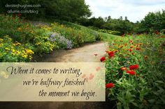 Ask any writer: Getting started is always the hardest part. http://allume.com/2013/07/how-writers-can-overcome-fear-with-one-word-begin/