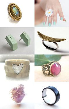 Ring in June by Judy Schoonmaker on Etsy--Pinned with TreasuryPin.com