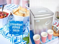 Party Planning Made Easy Host A Party, Fourth Of July, Memorial Day, Party Planning, Make It Simple, Amy, Ice Makers, Party Ideas, Stuffed Peppers