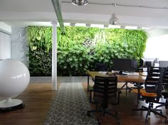 mur vegetal interieur2 Utopies