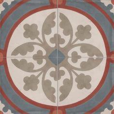 Moroccan Encaustic Cement Tile Pattern 09a