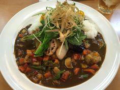 カレーハウス・キッチンの野菜カレー