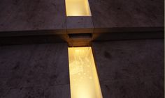 The water rill on the Welcome to Yorkshire show garden was illuminated by using waterproof LED ribbon.