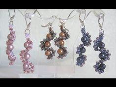 Whirlygig Earrings - #Seed #Bead #Tutorials