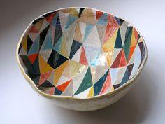 patterned bowl
