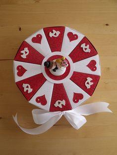 Geldgeschenke - schöne romantische Hochzeitstorte - ein Designerstück von Kartentraeume bei DaWanda