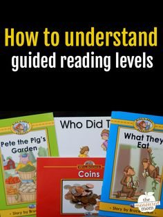 This post will give you simple overview of the guided reading levels from A-P.
