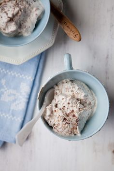Double coconut 'Ice Cream'...gluten free vegan