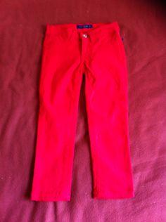 Pantalón rojo