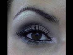 Maquiagem para os Olhos Inspirada nas Cores do Exercito