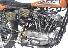 Racing Scale Models: Harley-Davidson XR 750 1972 by Kim's House Garage