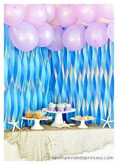 Bonitas ideas para tu próxima fiesta de la Sirenita. Consigue todo para tu fiesta en nuestra tienda en línea entrando aquí: http://www.siemprefiesta.com/fiestas-infantiles/ninas/articulos-la-sirenita.html?limit=all&utm_source=Pinterest&utm_medium=Pin&utm_campaign=Sirenita