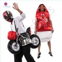 #Disfraces de #Carnaval de Motos para grupos #mercadisfraces tienda de #disfraces online, #disfraces #originales y baratos para tus fiestas de #carnaval o #halloween