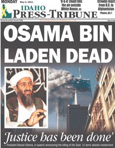 *OSAMA BIN LADEN DEAD ~ Idaho Press-Tribune