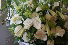 lily,mum,eustoma,calla and anthurium