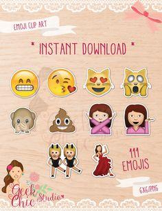 Emoji Printable Photo Booth Props Birthday